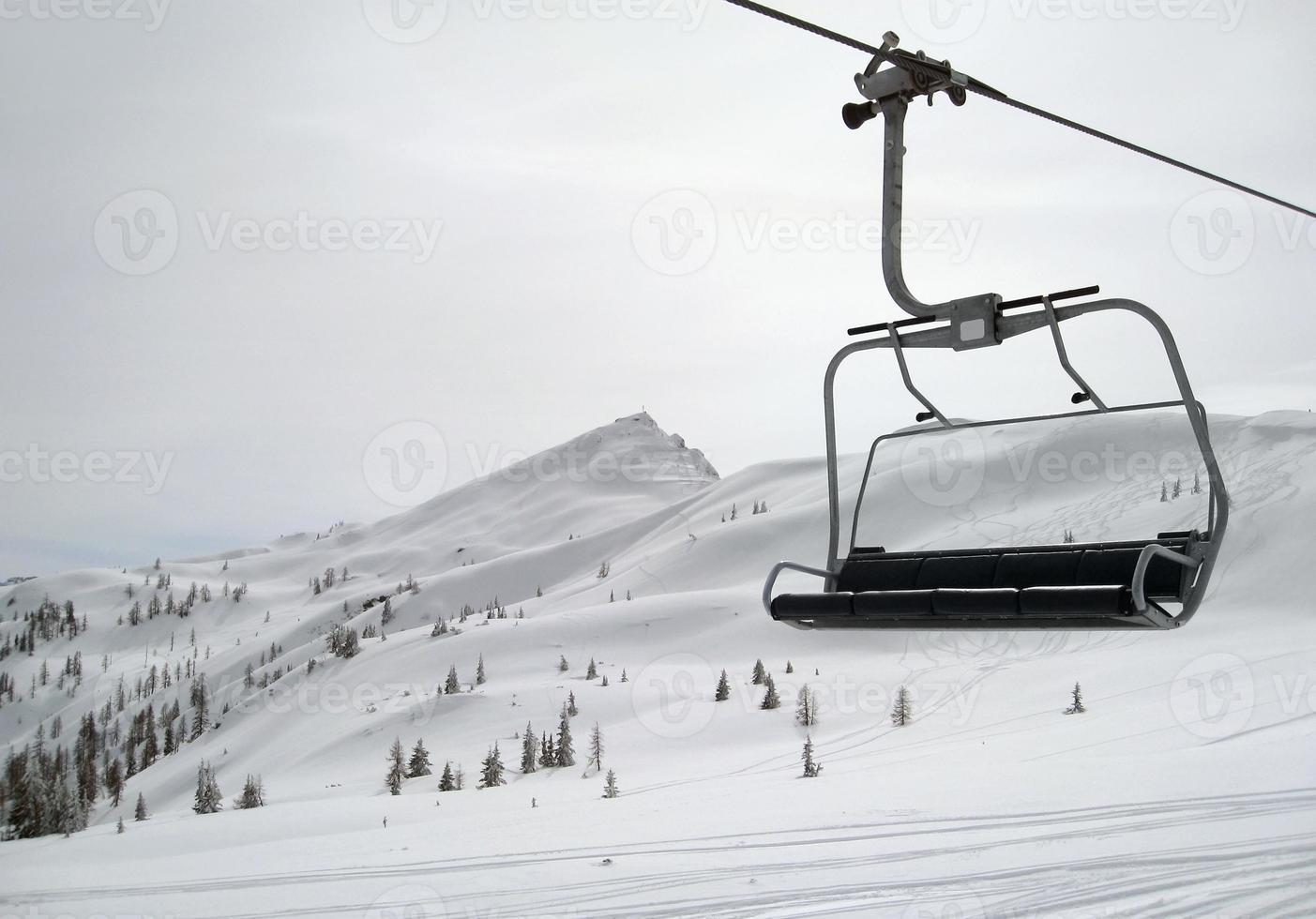 Skifahren im Wagrain foto
