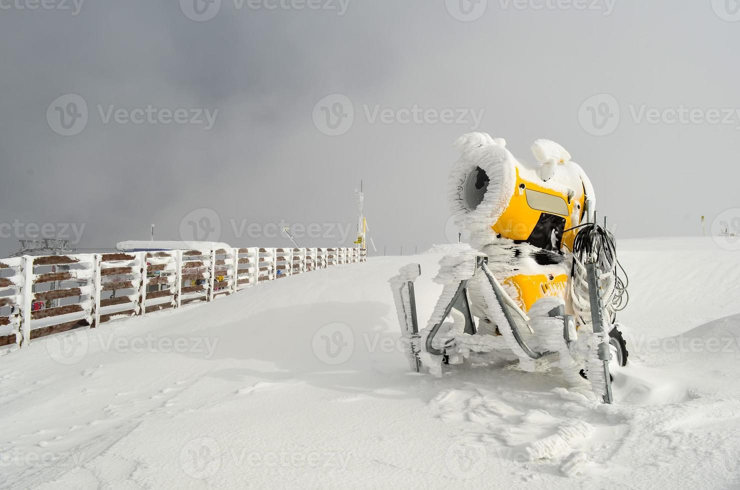 Schneekanone foto