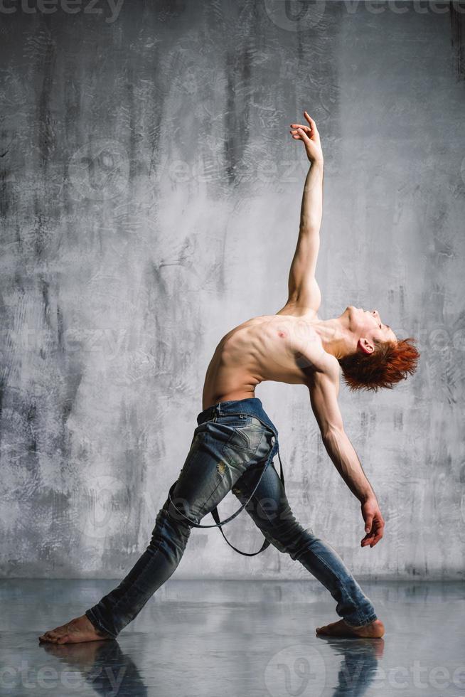 zeitgenössischer Tänzer foto