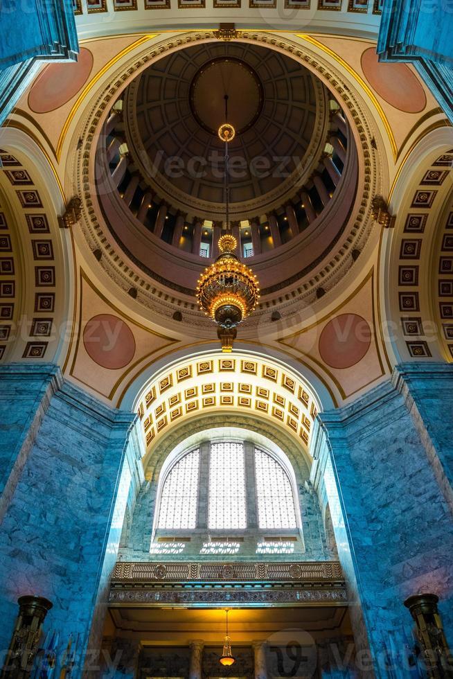 Capitol Rotunda - Olympia, Washington USA foto