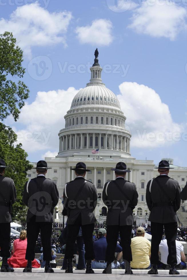 Ehrengarde in der Hauptstadt foto