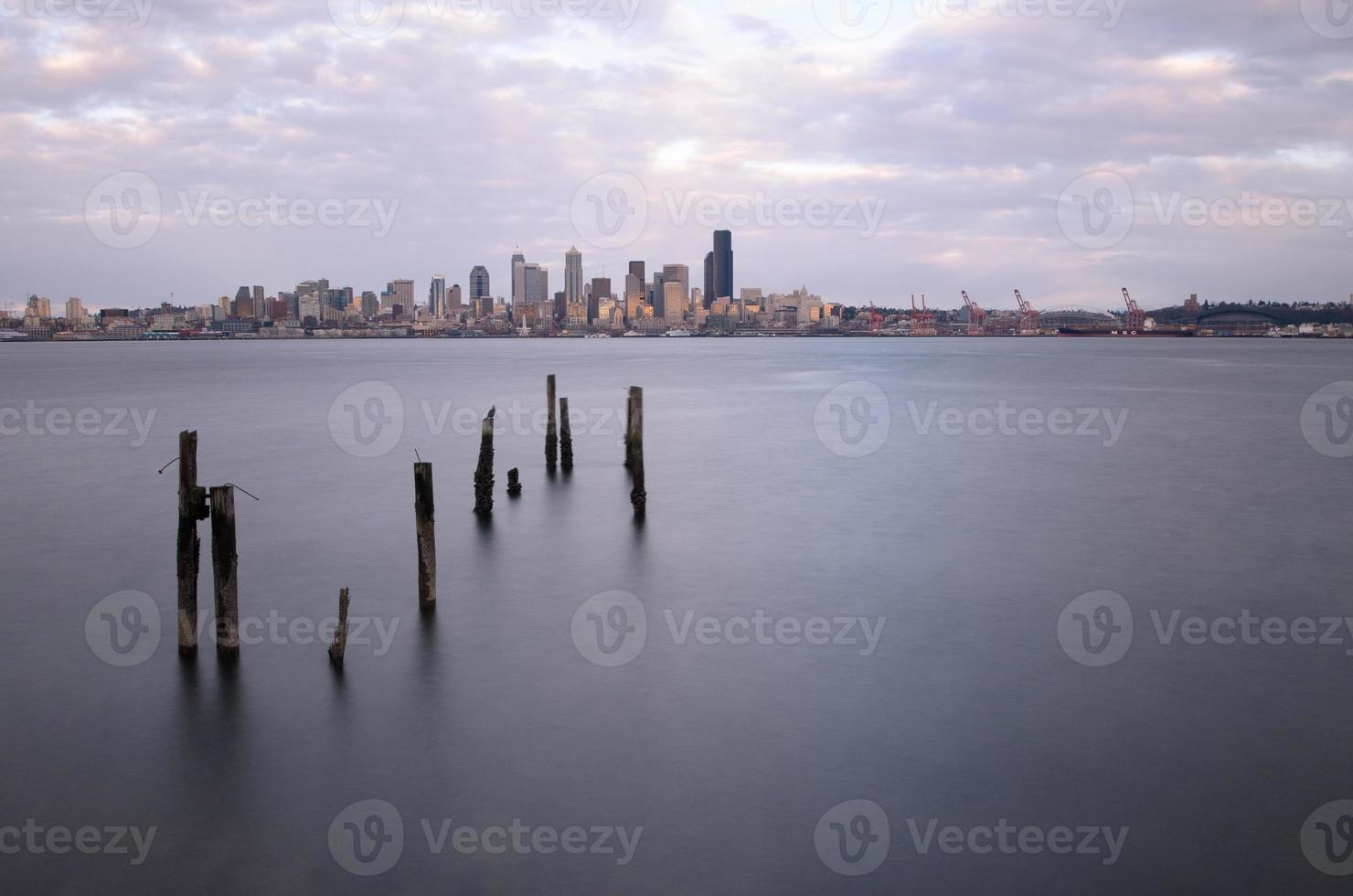 Seattle aus dem Westen foto