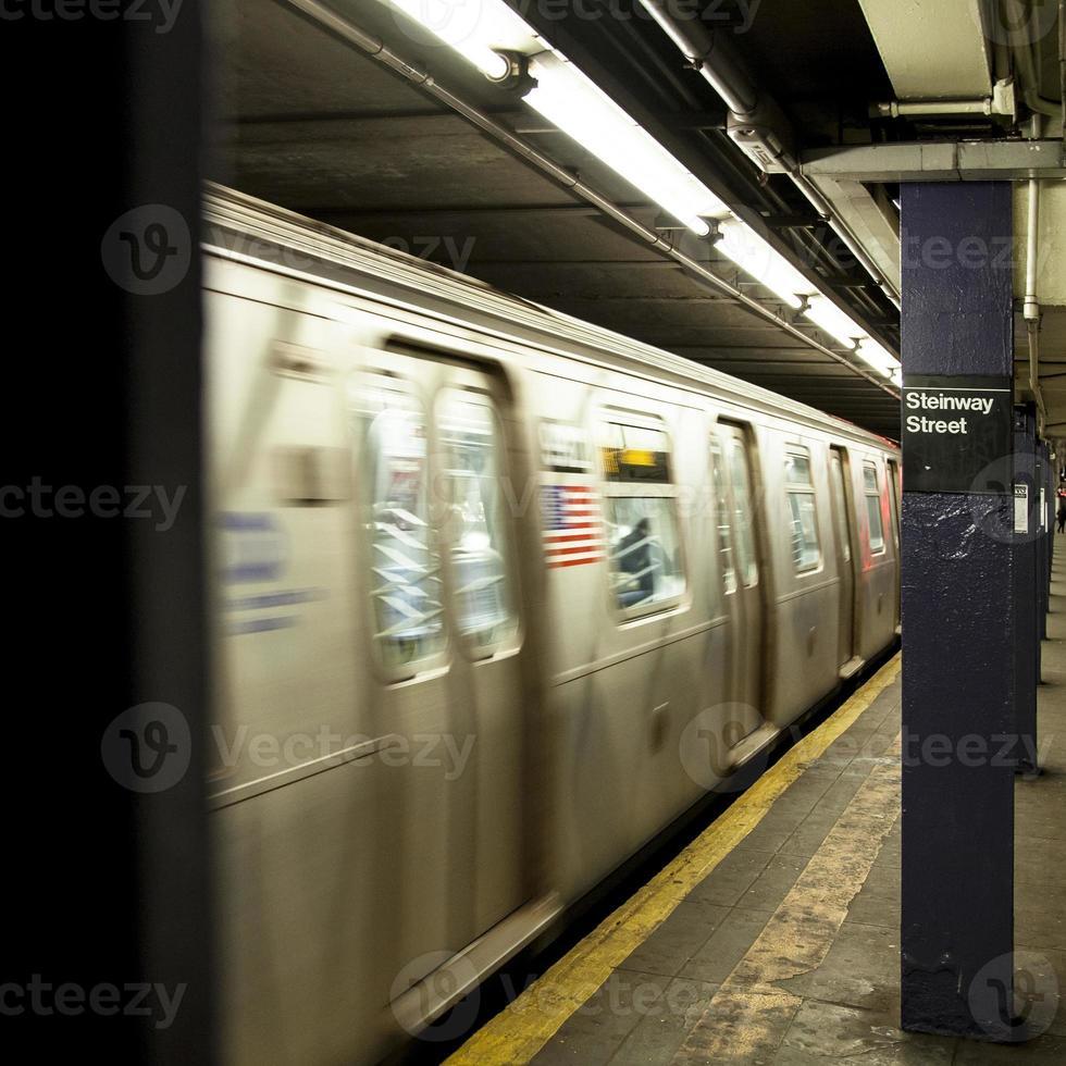 NYC U-Bahn foto