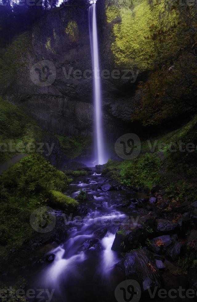 Latourell fällt, Oregon foto