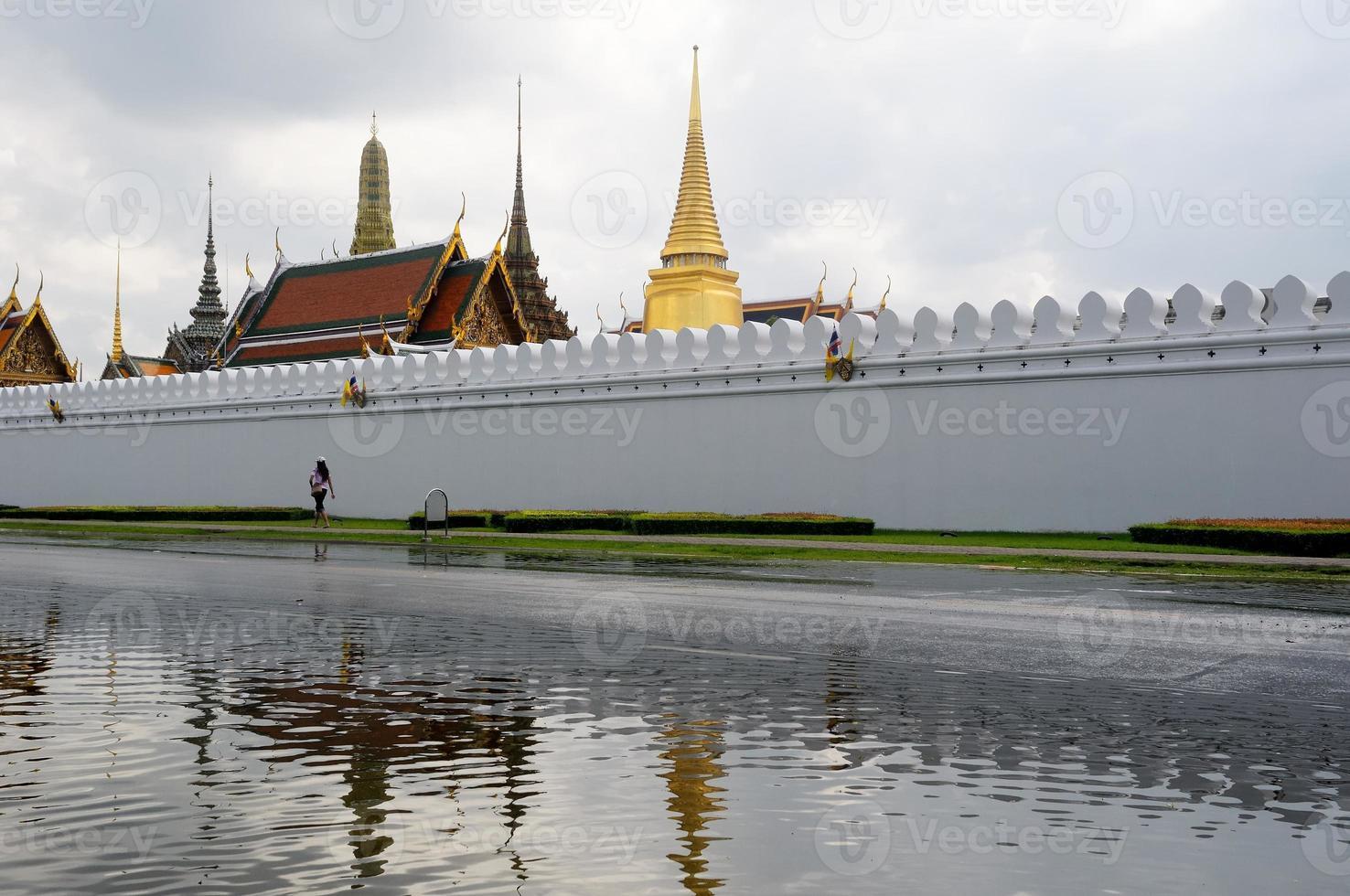 Wat Phra Kaew Tempel, Bangkok, Thailand foto