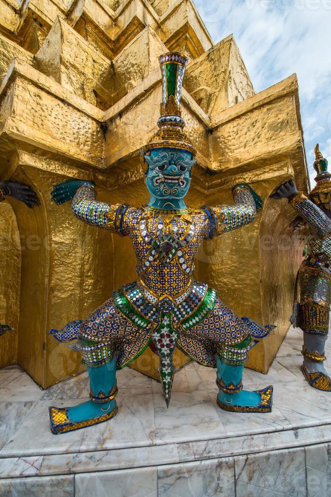 Wat Phra Kaeo Bangkok Tempel Thailand foto