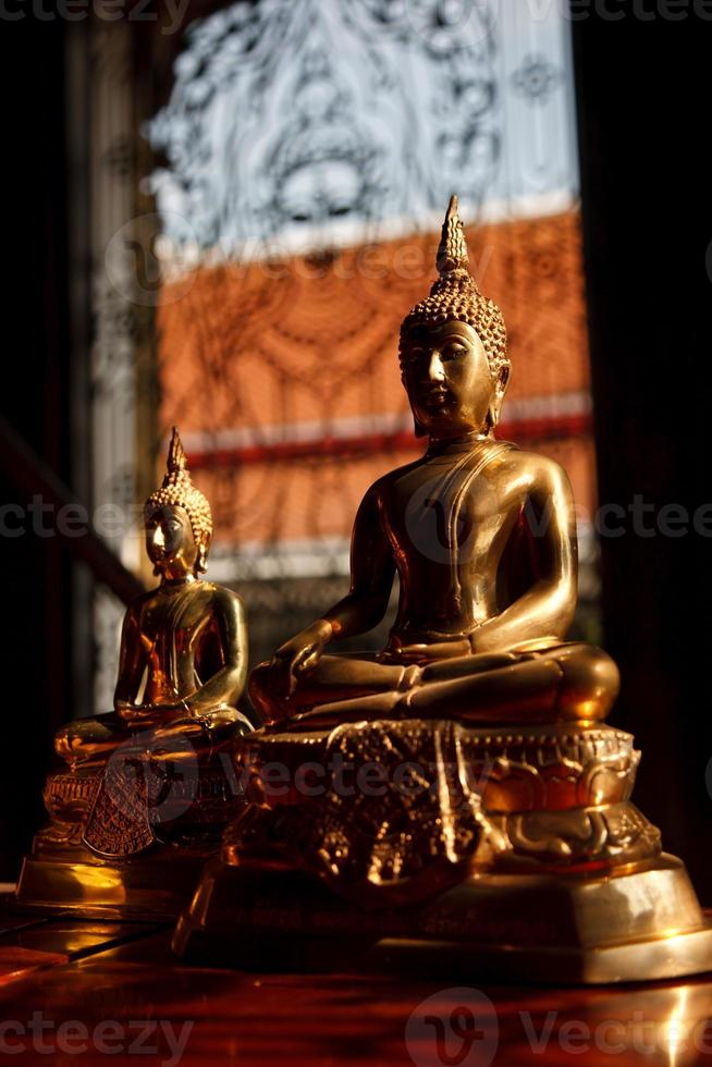 Buddha-Statuen, Bangkok, Thailand foto