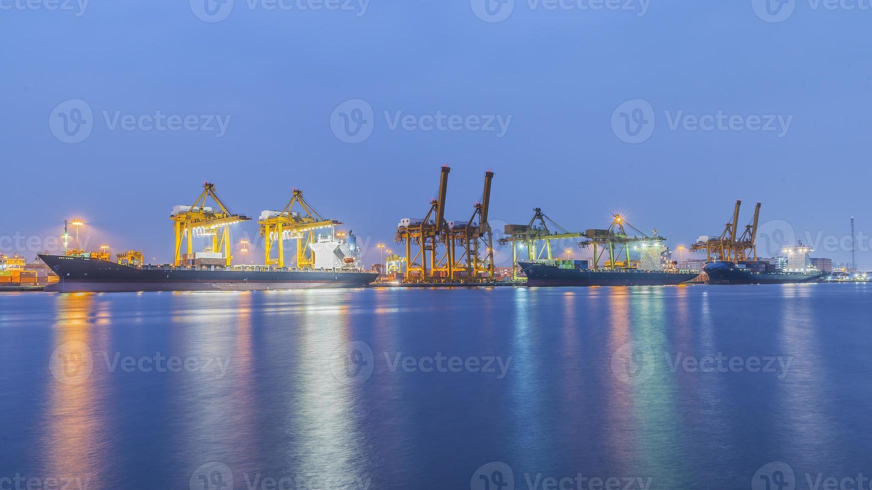 Bangkok Hafen foto