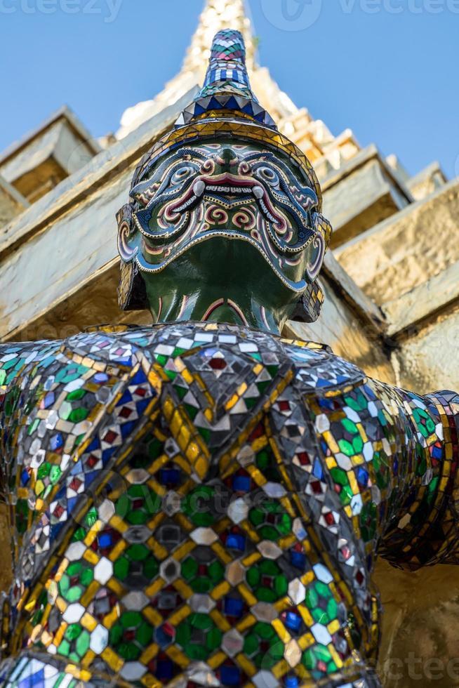 Dämonenwächter Wat Phra Kaeo foto