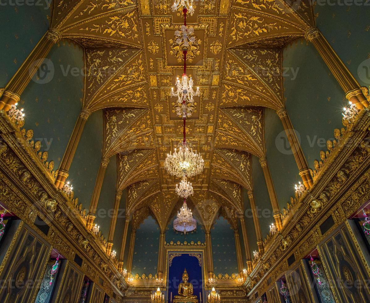 Schlosshalle, der große Palast, Bangkok, Thailand foto