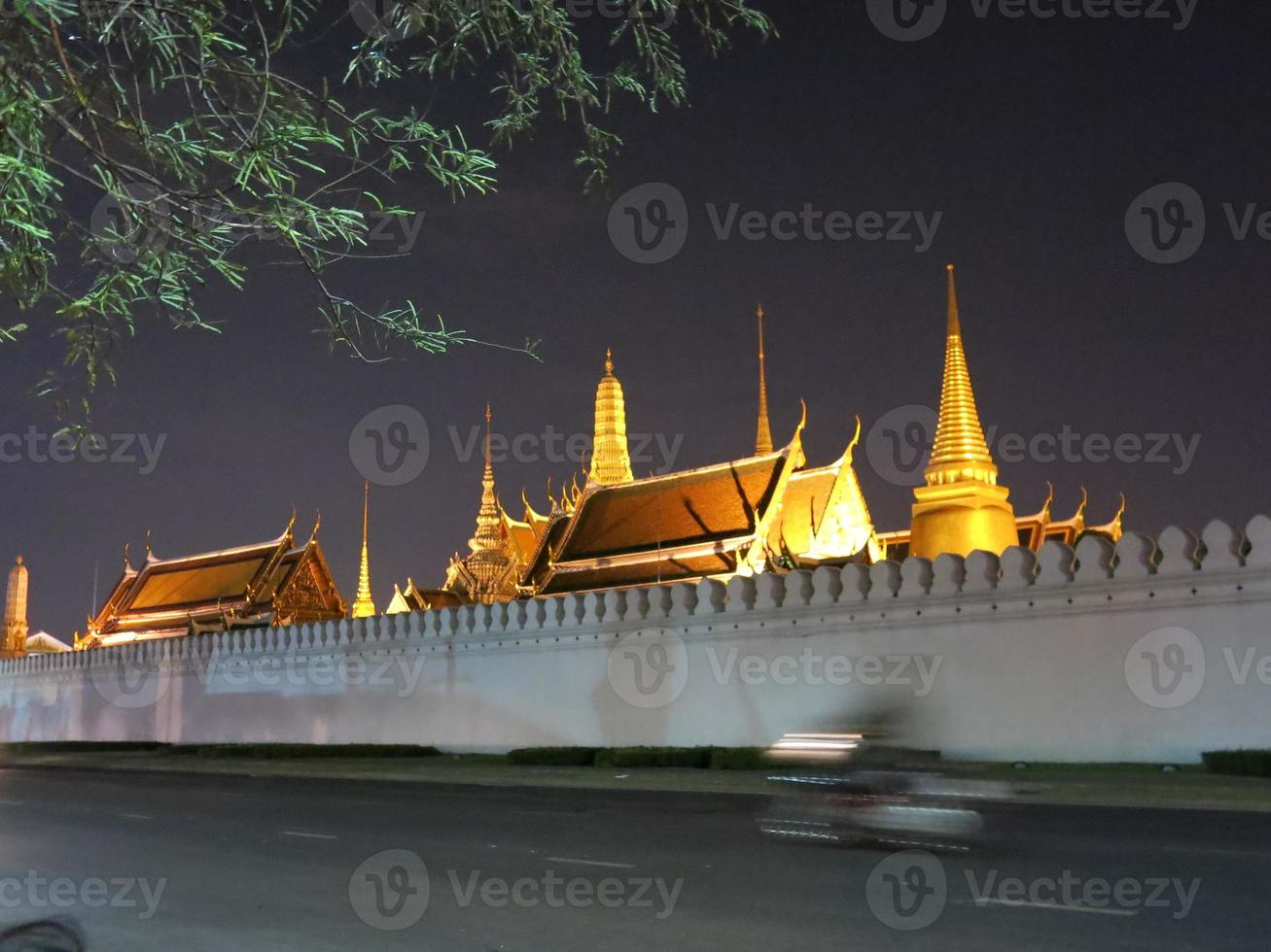 Wat Phra Kaew, großer Palast, Bangkok foto