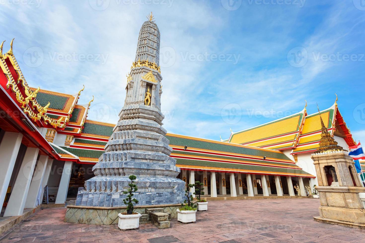 Wat Pho (Pho Tempel) in Bangkok, Thailand foto