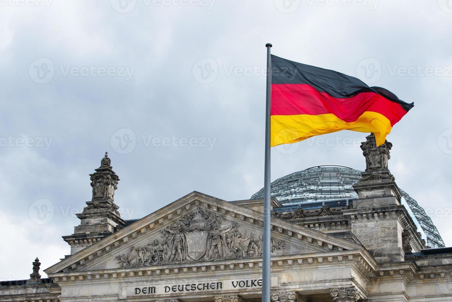 deutschland flagge foto