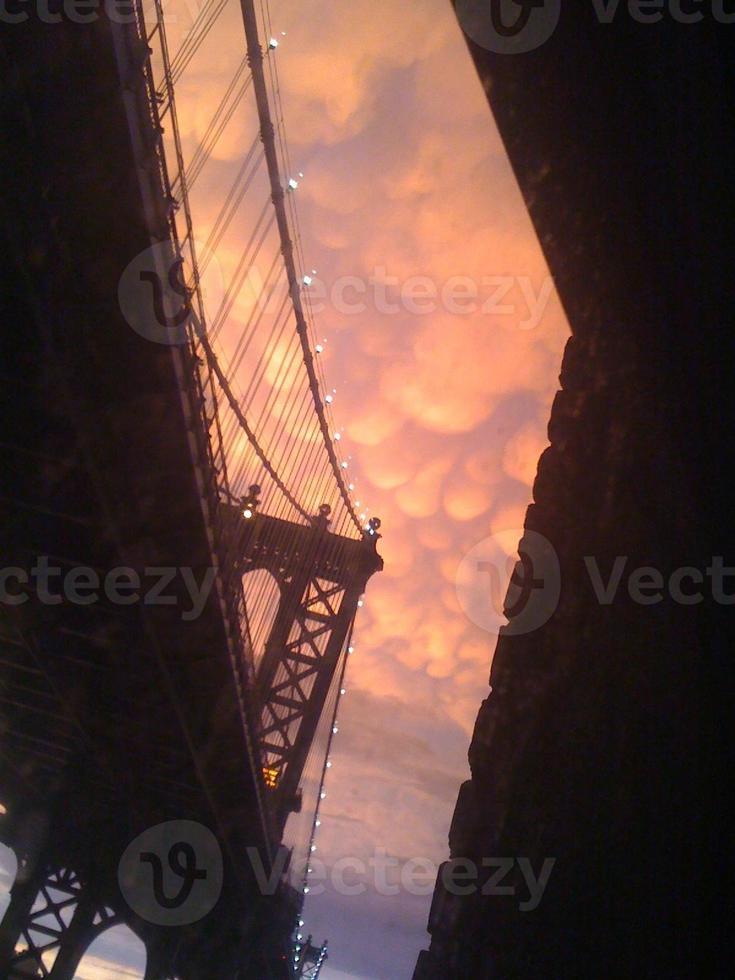 Mammatuswolken foto