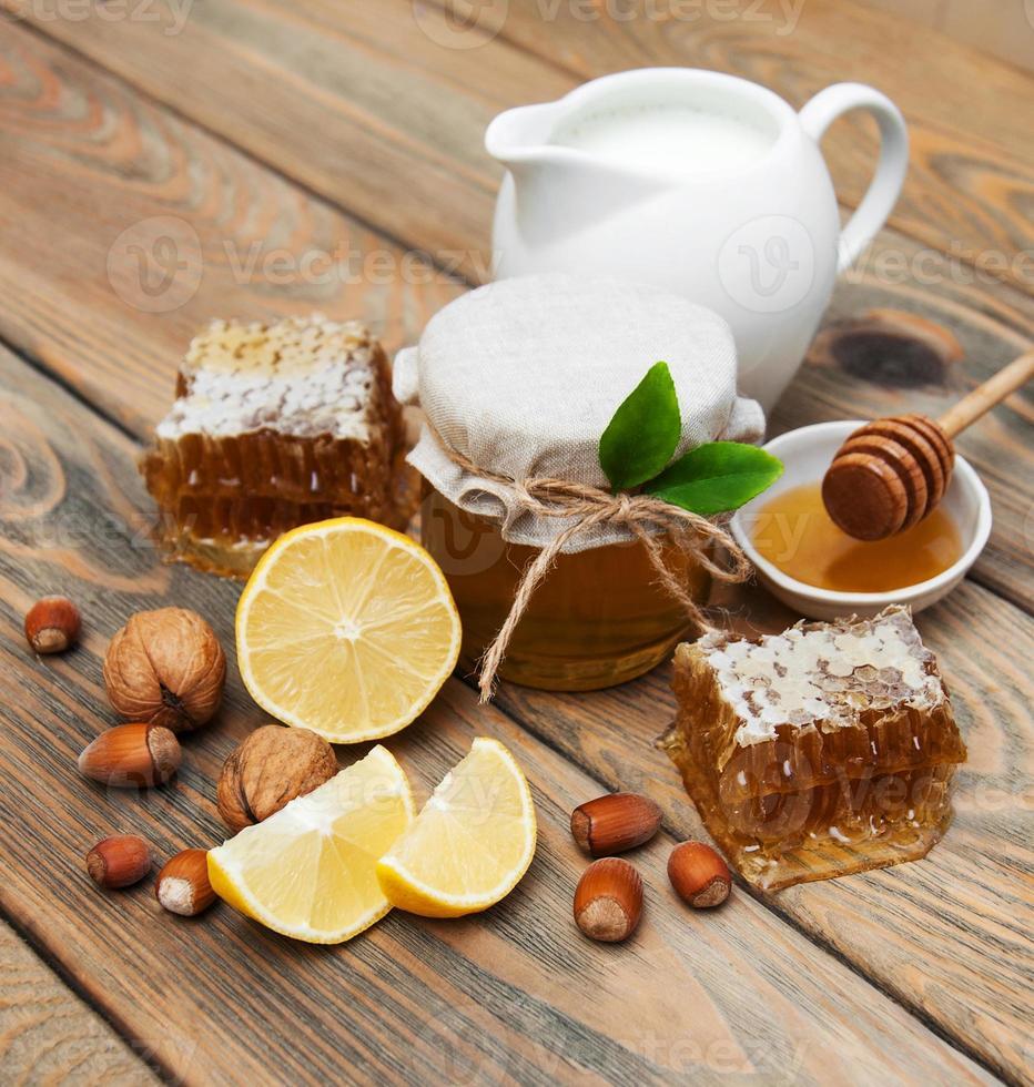 Honig und Zitrone foto