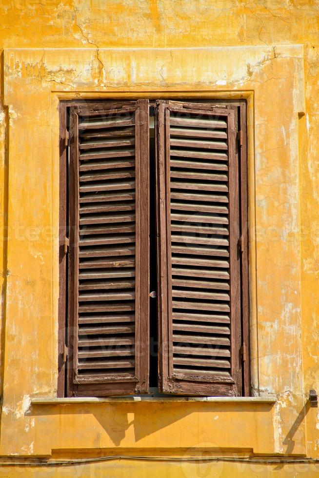 Fensterläden, Rom, Italien foto