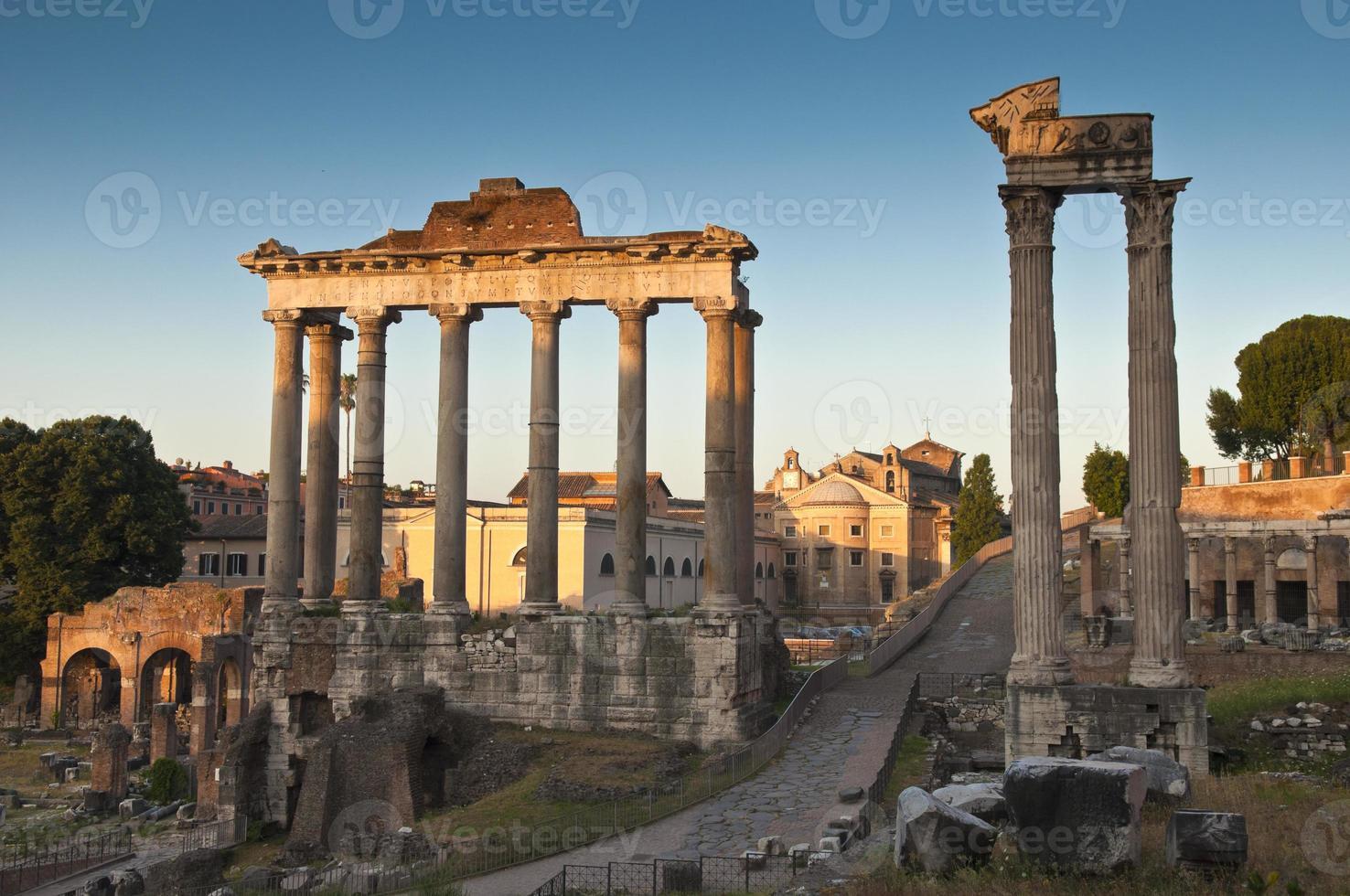 altes römisches Forum, Rom foto