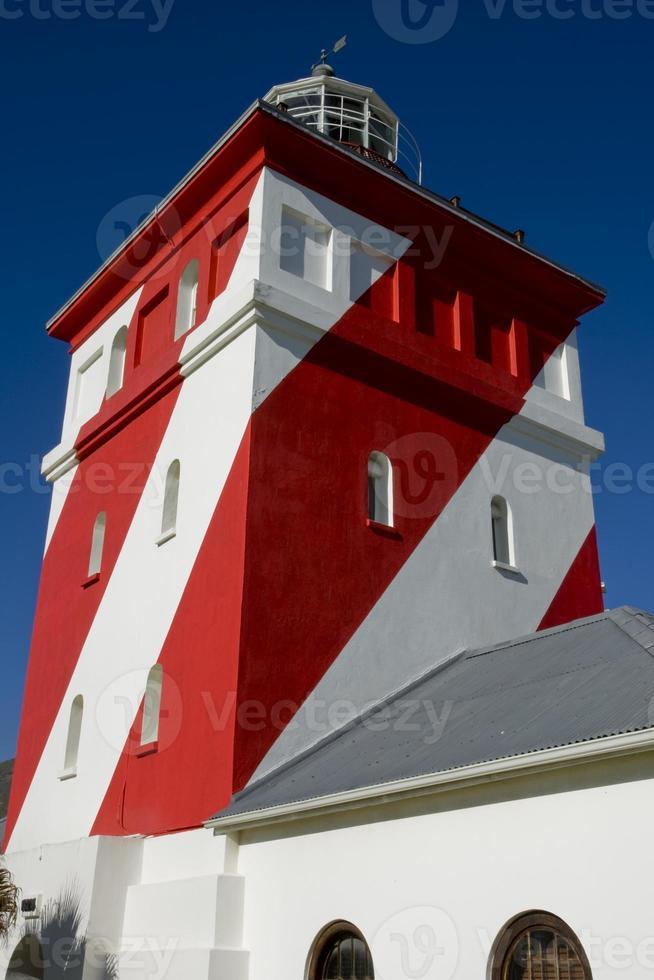 Leuchtturm drei Anker Bucht foto