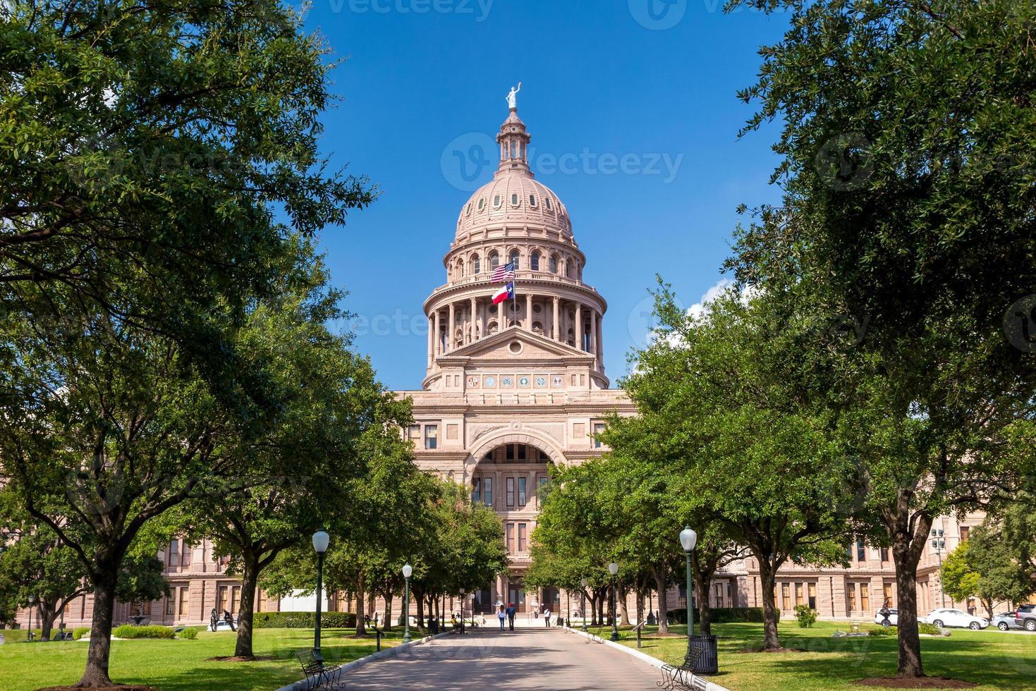 Texas State Capitol Gebäude in Austin foto