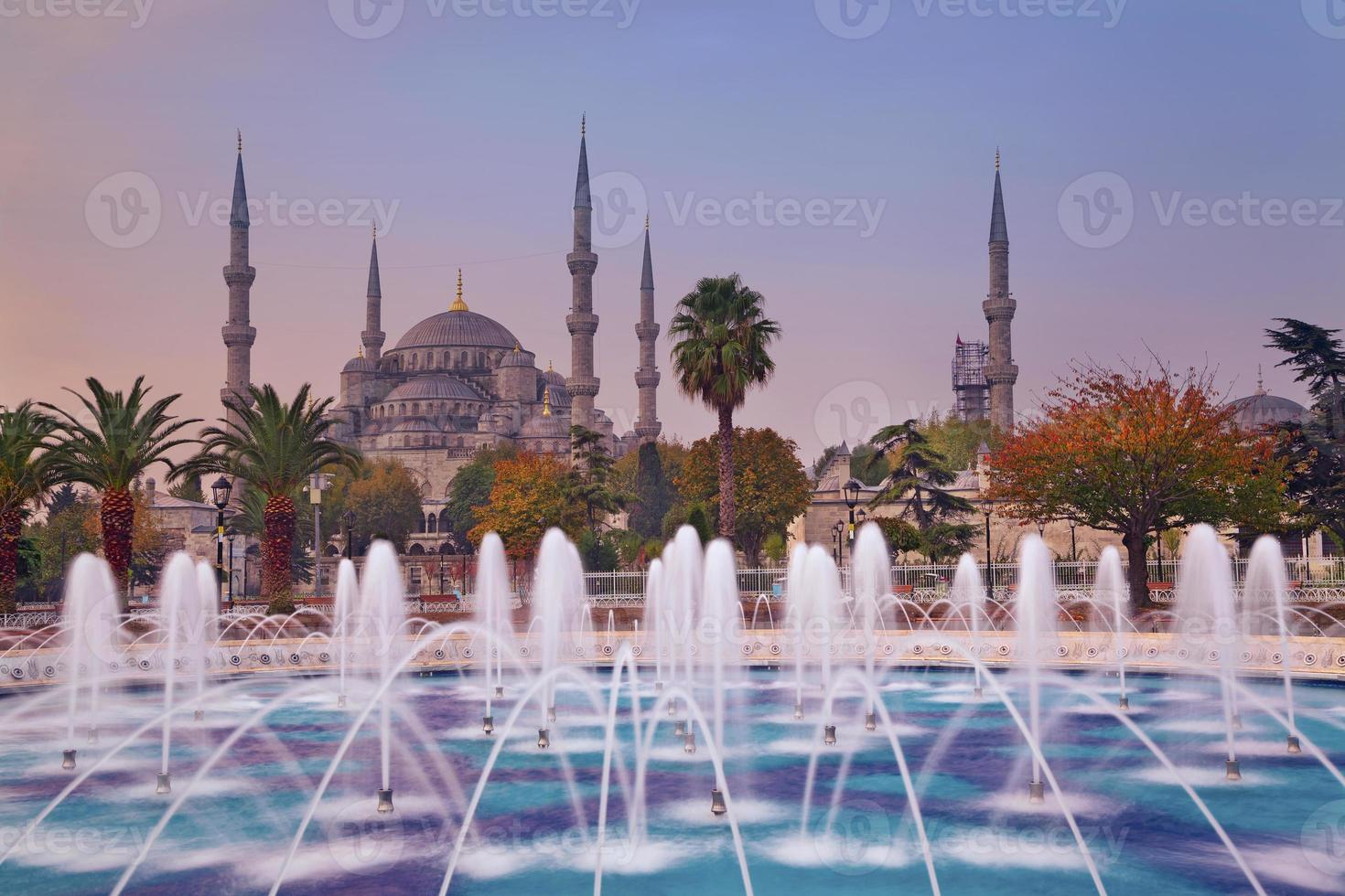 Herbst Istanbul. foto