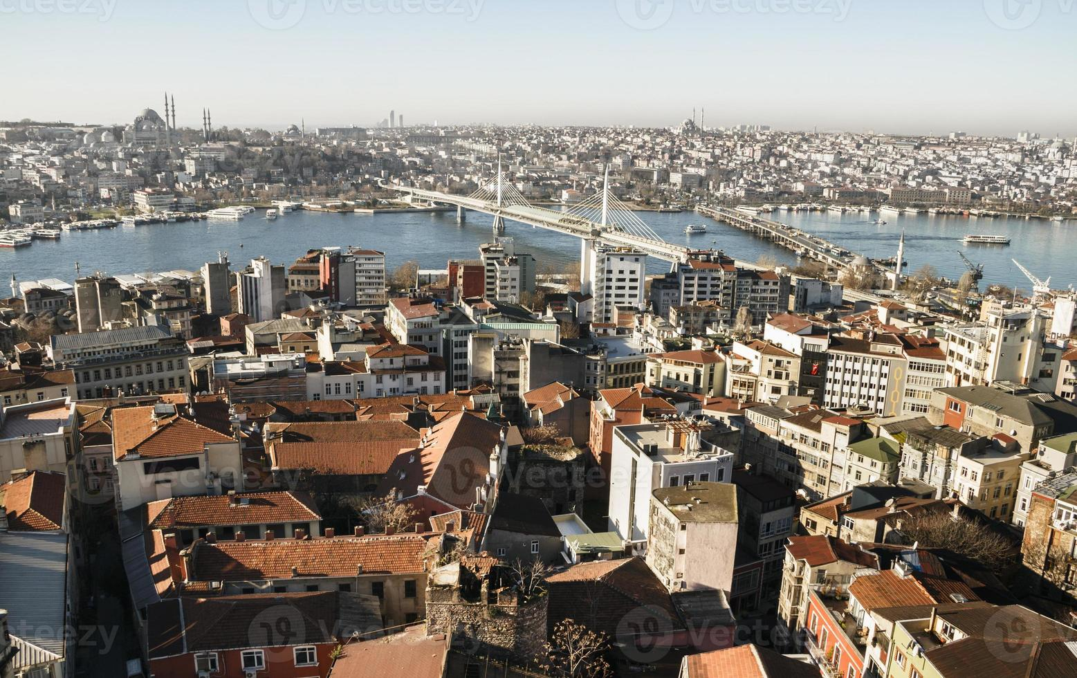 Stadtblick. Istanbul Panorama. foto