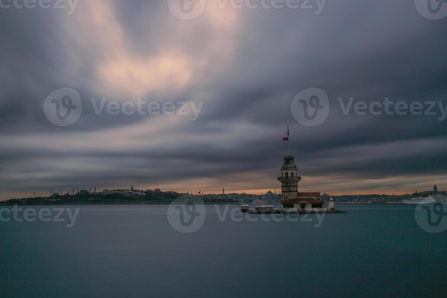 Mädchenturm, Istanbul, Truthahn foto
