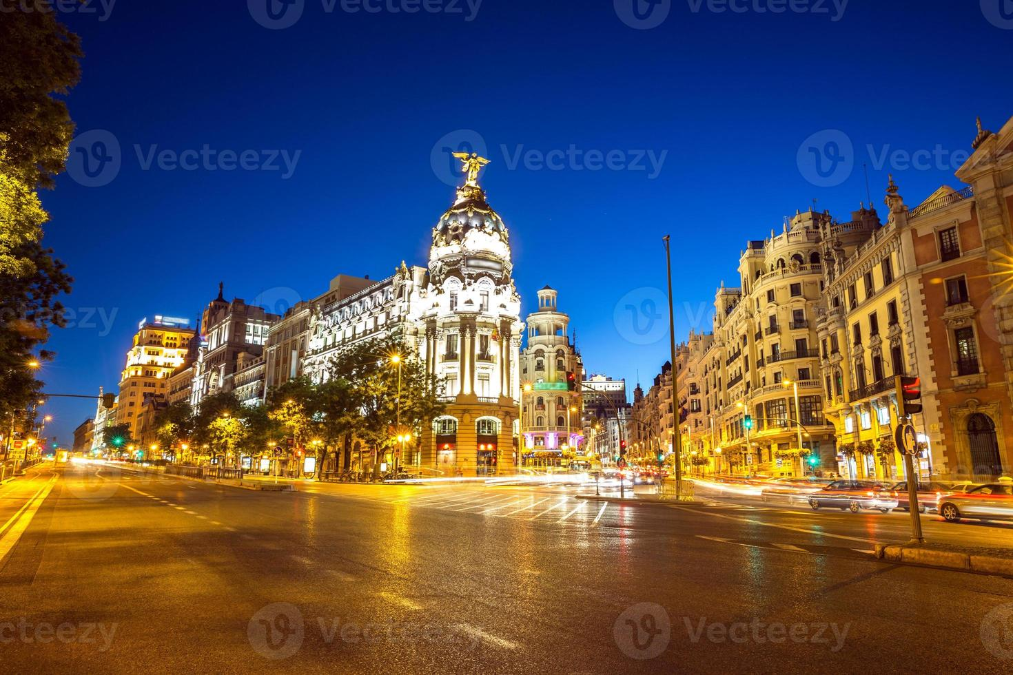 Gran via Madrid foto