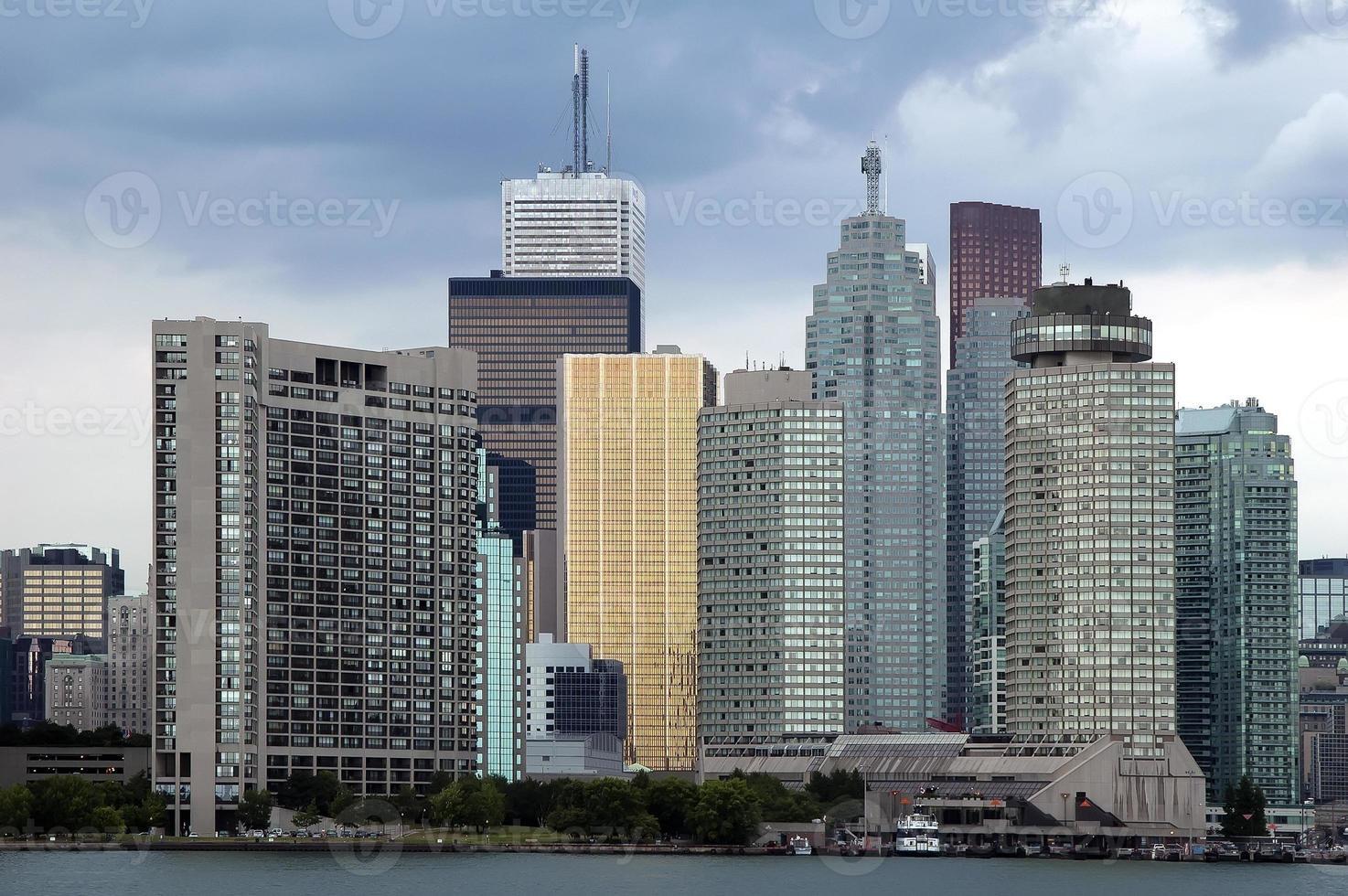 Finanzviertel von Toronto foto