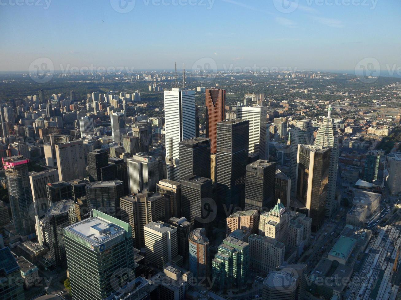 Luftaufnahme von Toronto foto