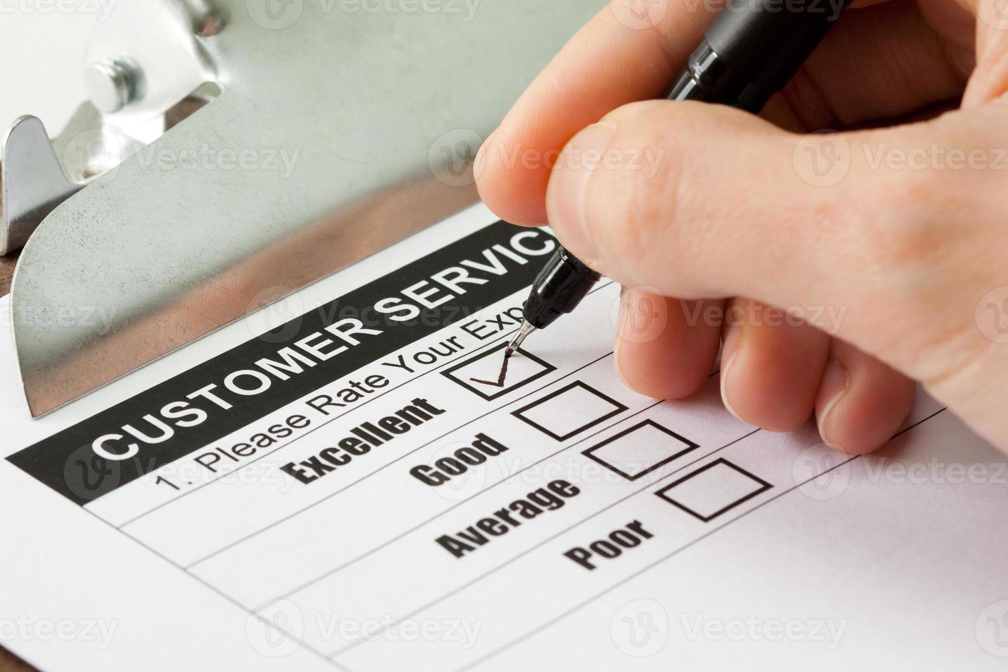 Kundendienstumfrage foto