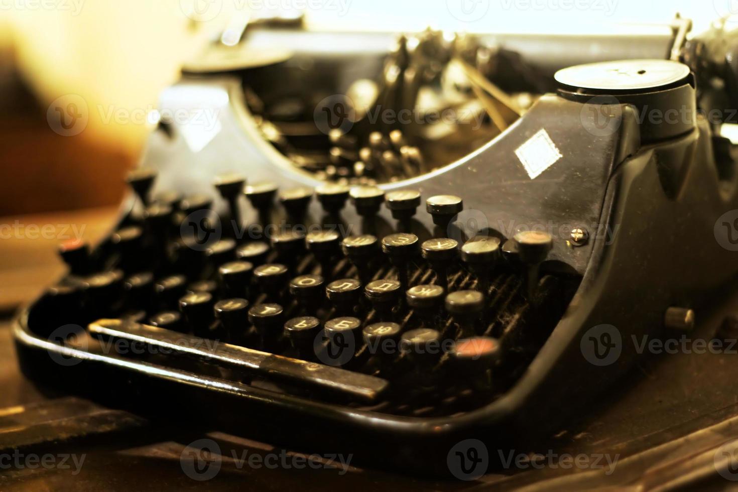alte Schreibmaschine foto