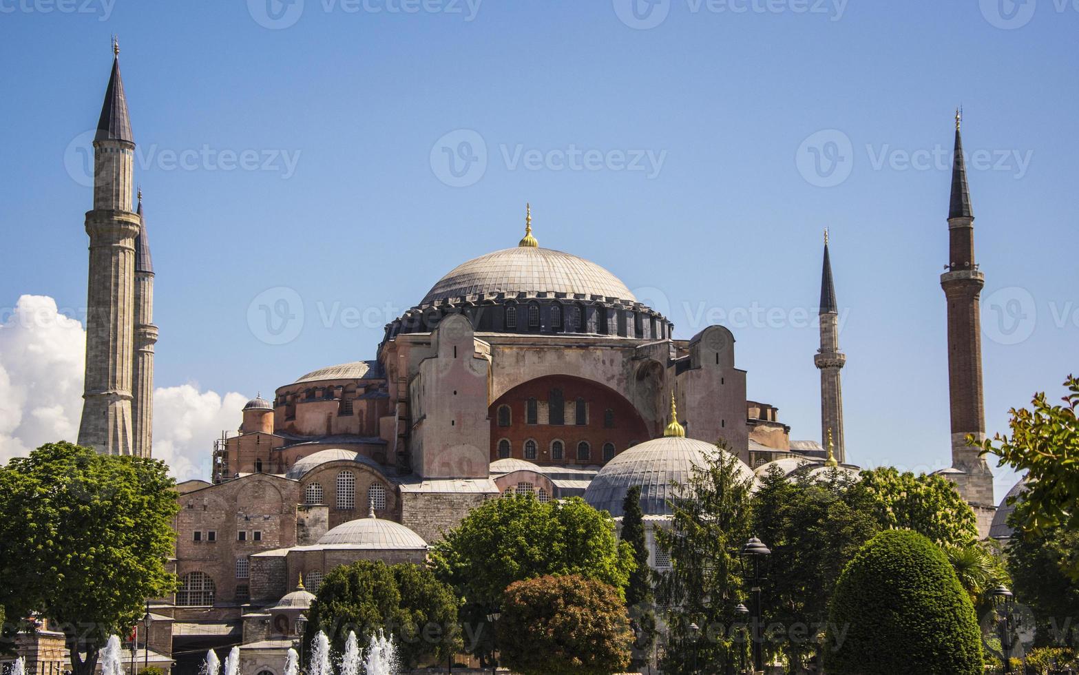Hagia Sophia, Sancta Sophia, Sancta Sapientia oder Ayasofya in Istanbul der Türkei foto