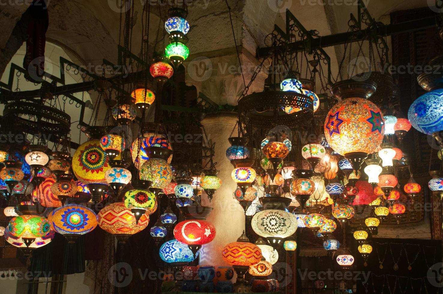 Lampen von Istanbul foto