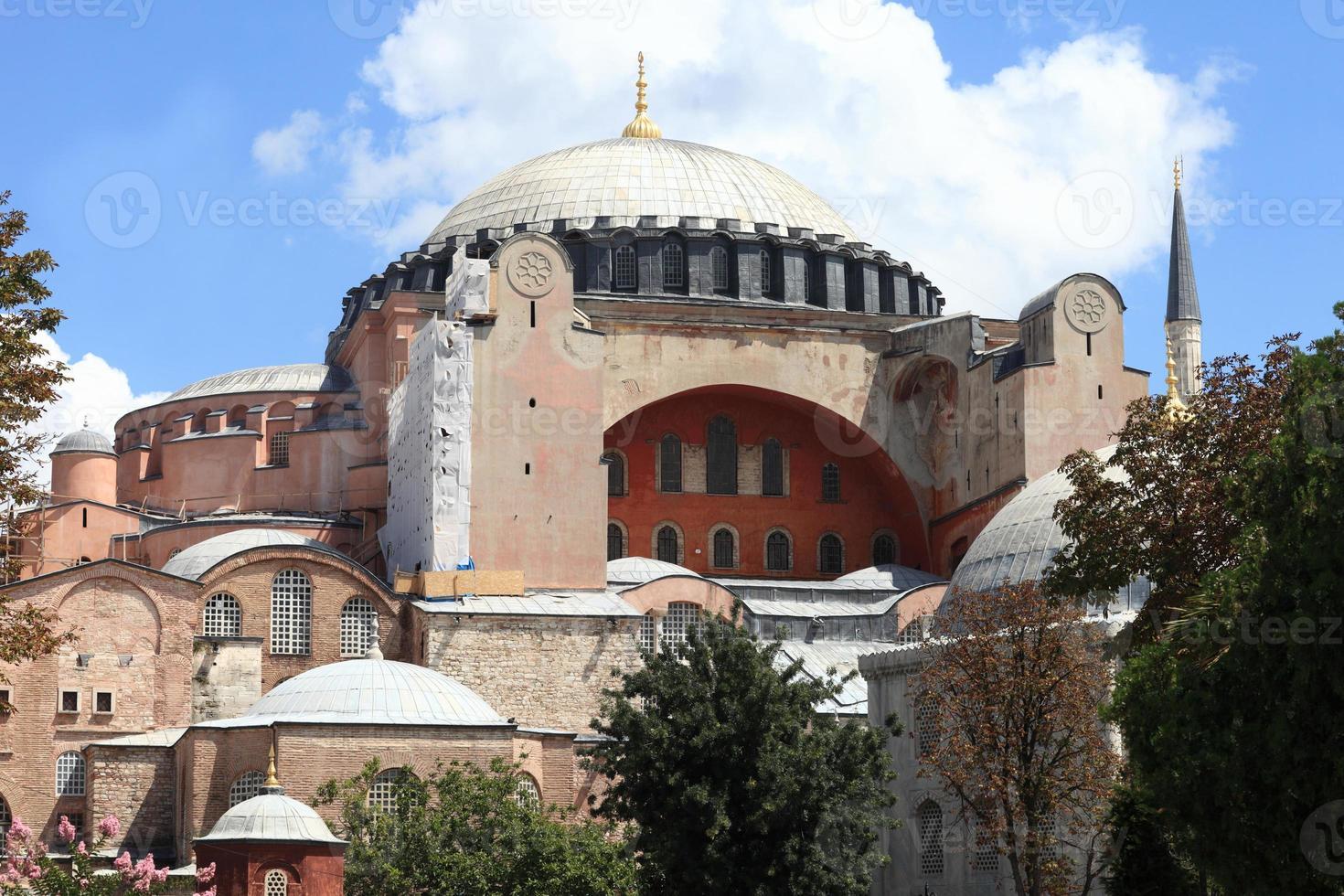 Details von Hagia Sophia foto