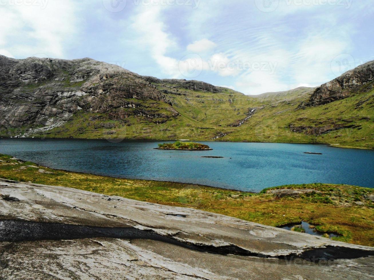 Lago en Cuillins foto