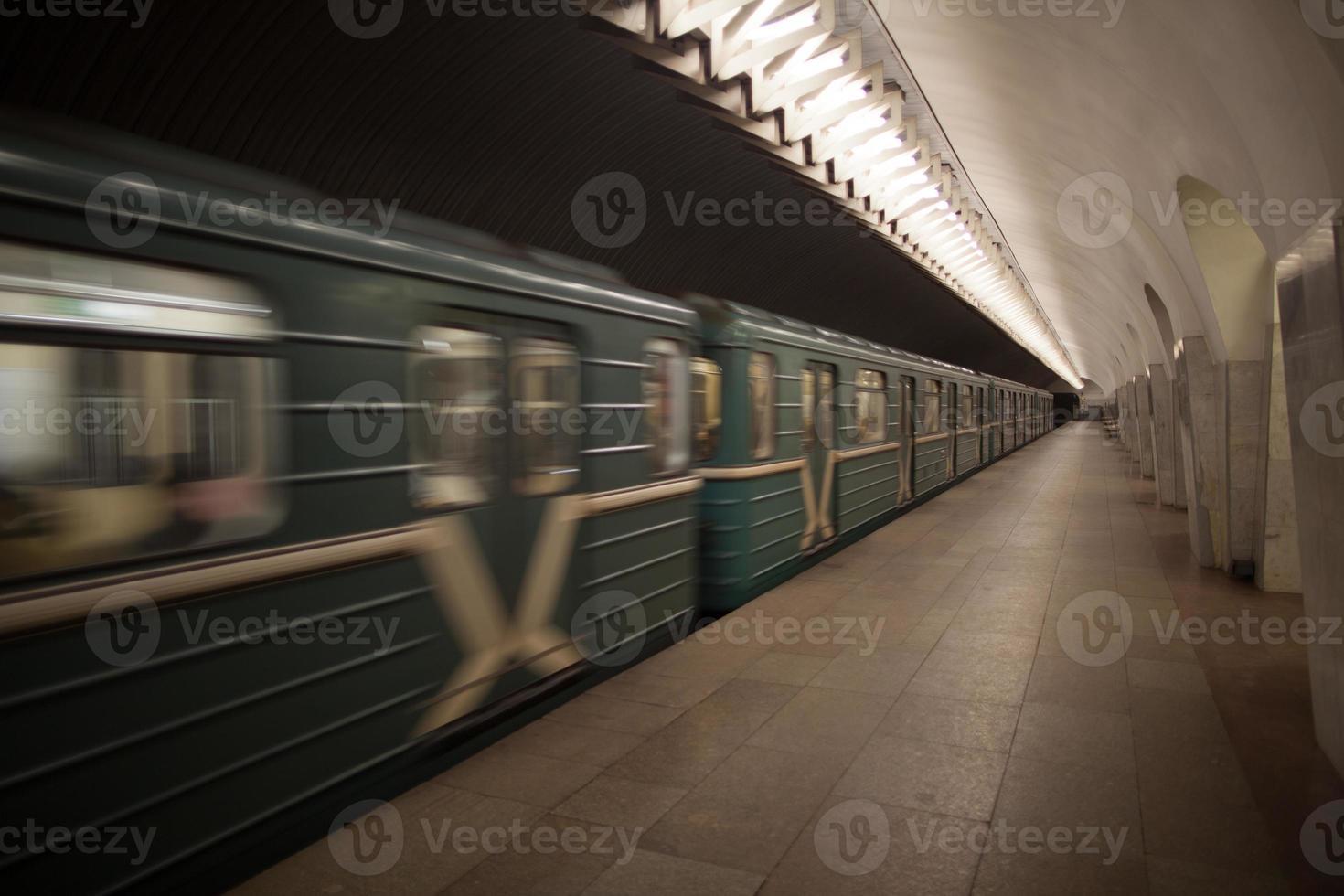 Moskauer U-Bahn foto