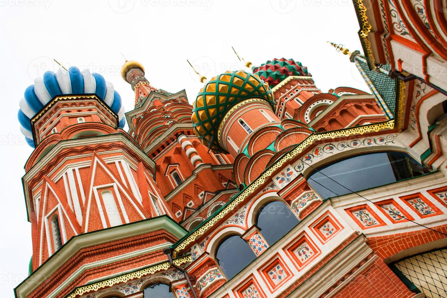 Basilius Kathedrale in Moskau foto