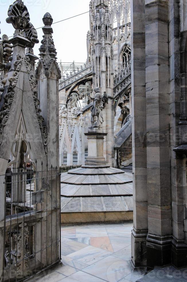 Szenen aus Mailand, Italien foto