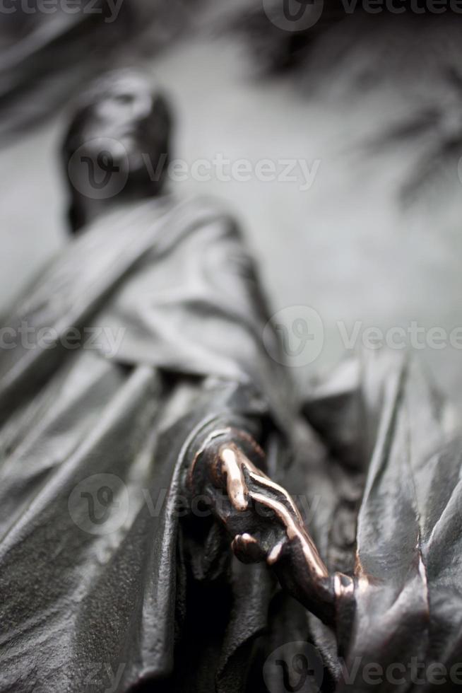 Jungfrau Maria und von Jesus, Mailänder Domskulptur foto