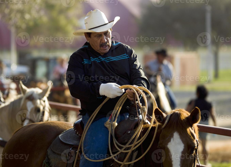 älterer Cowboy foto