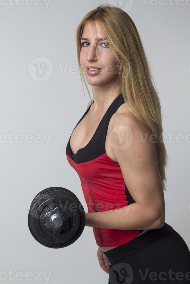 weibliche Fitness foto