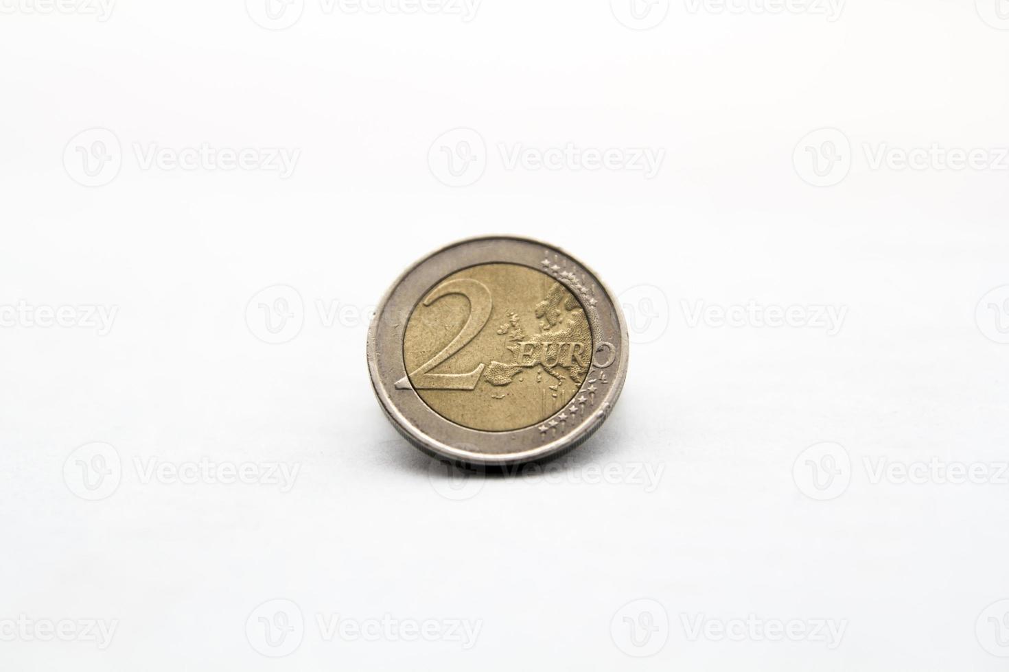 Geld Euro-Münze foto