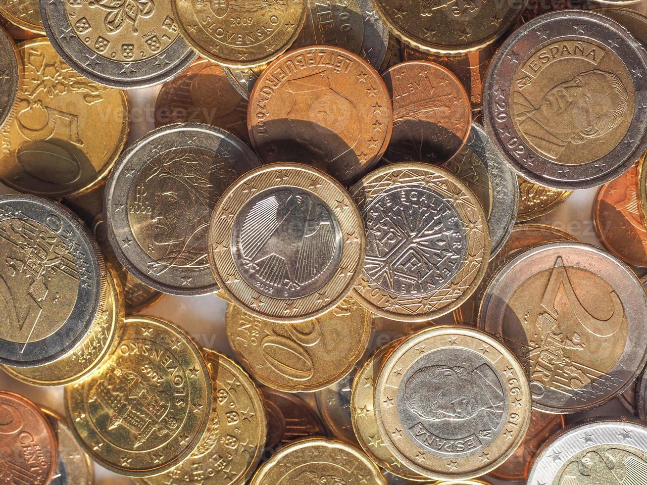 Euro-Münzen foto