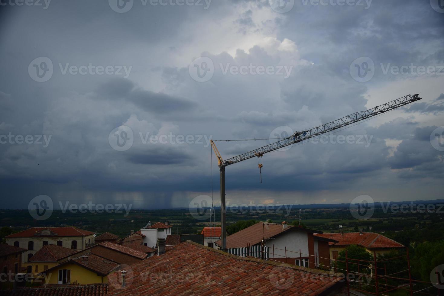 vor dem regen bruno, italien foto