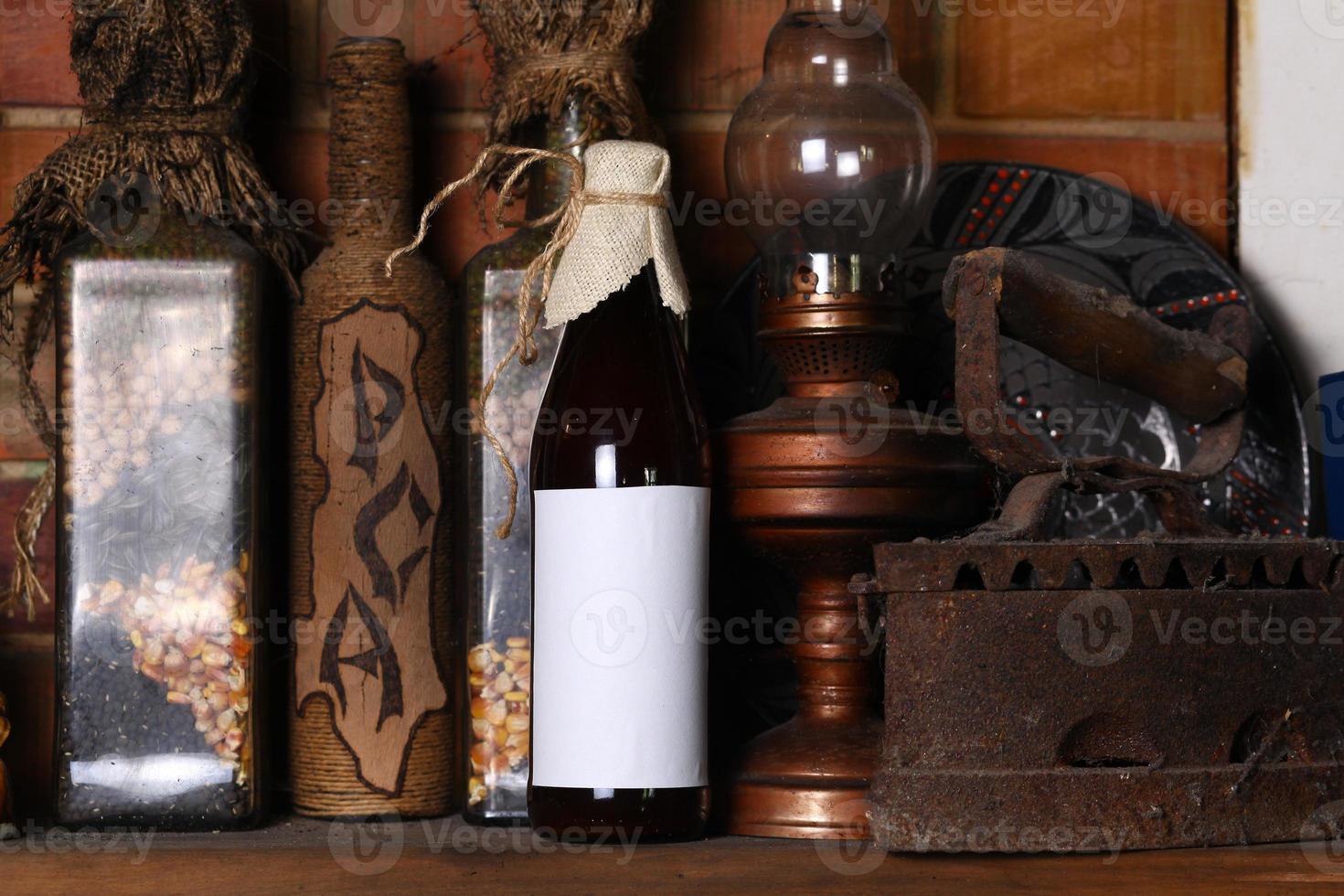 Flasche Craft Beer foto