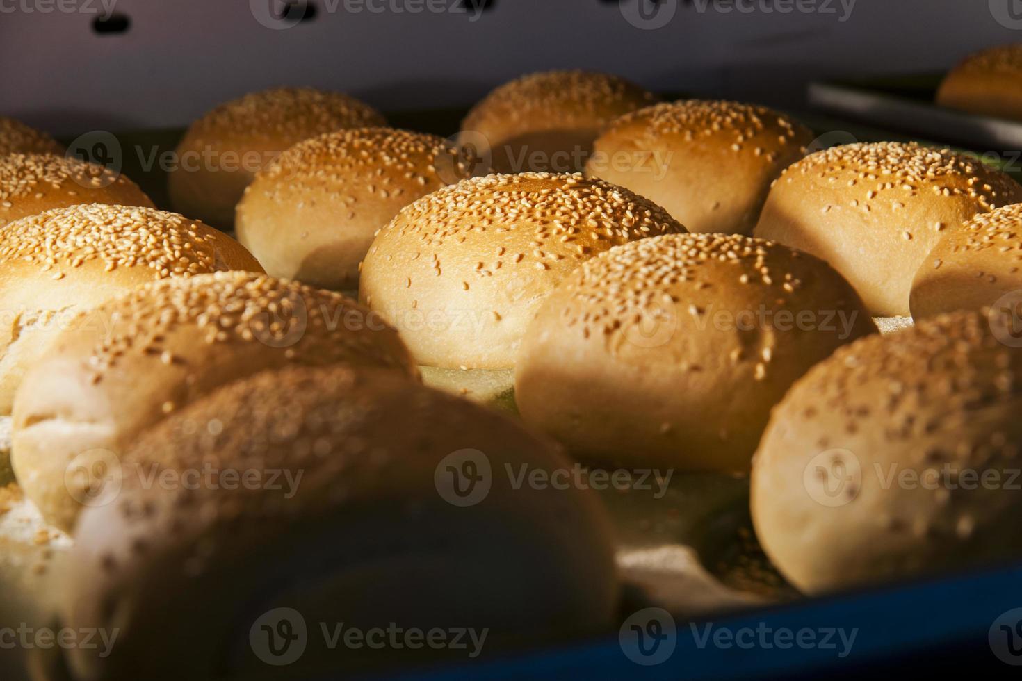 Hamburgerbrötchen foto