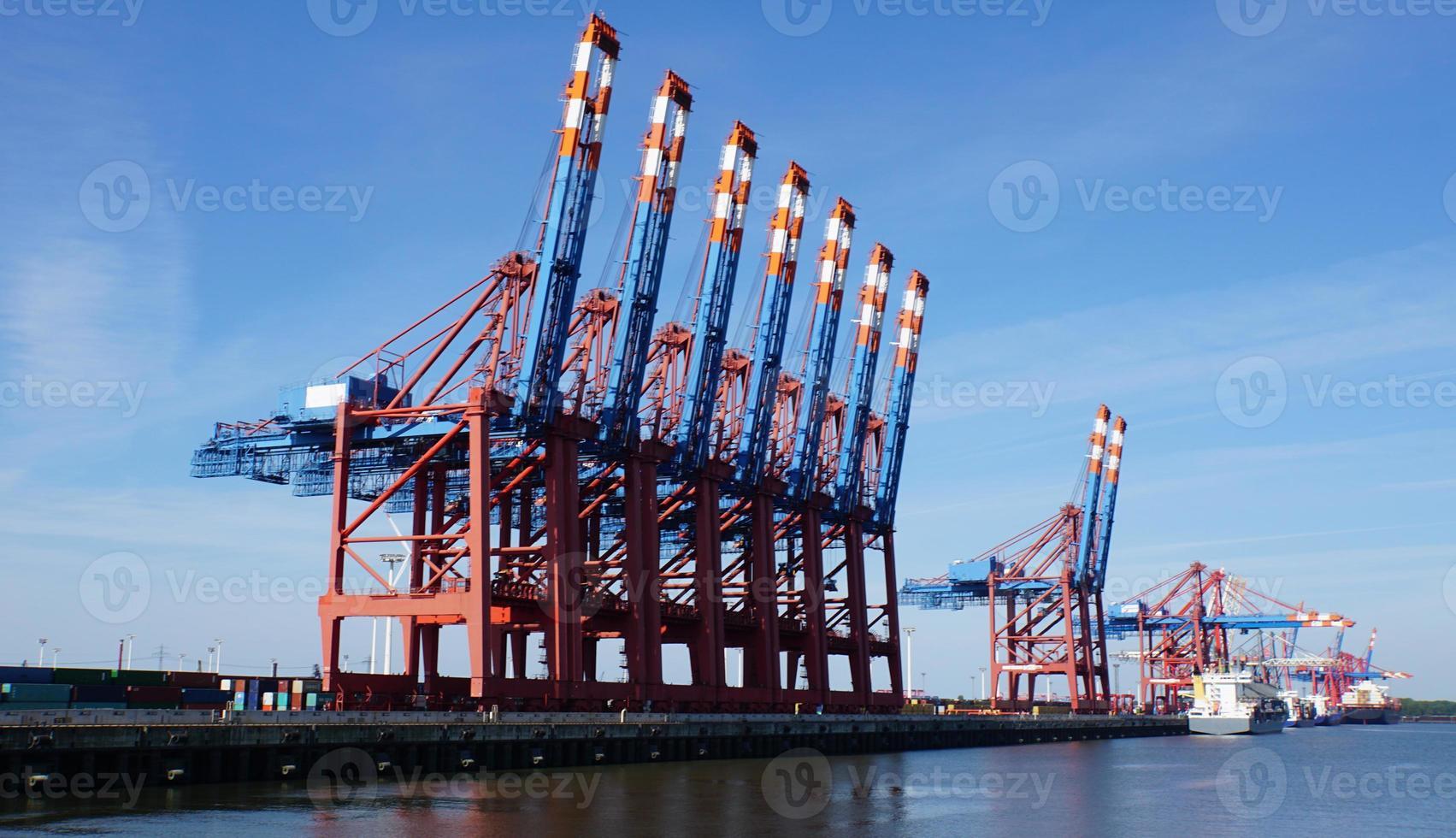 Container-Terminal foto