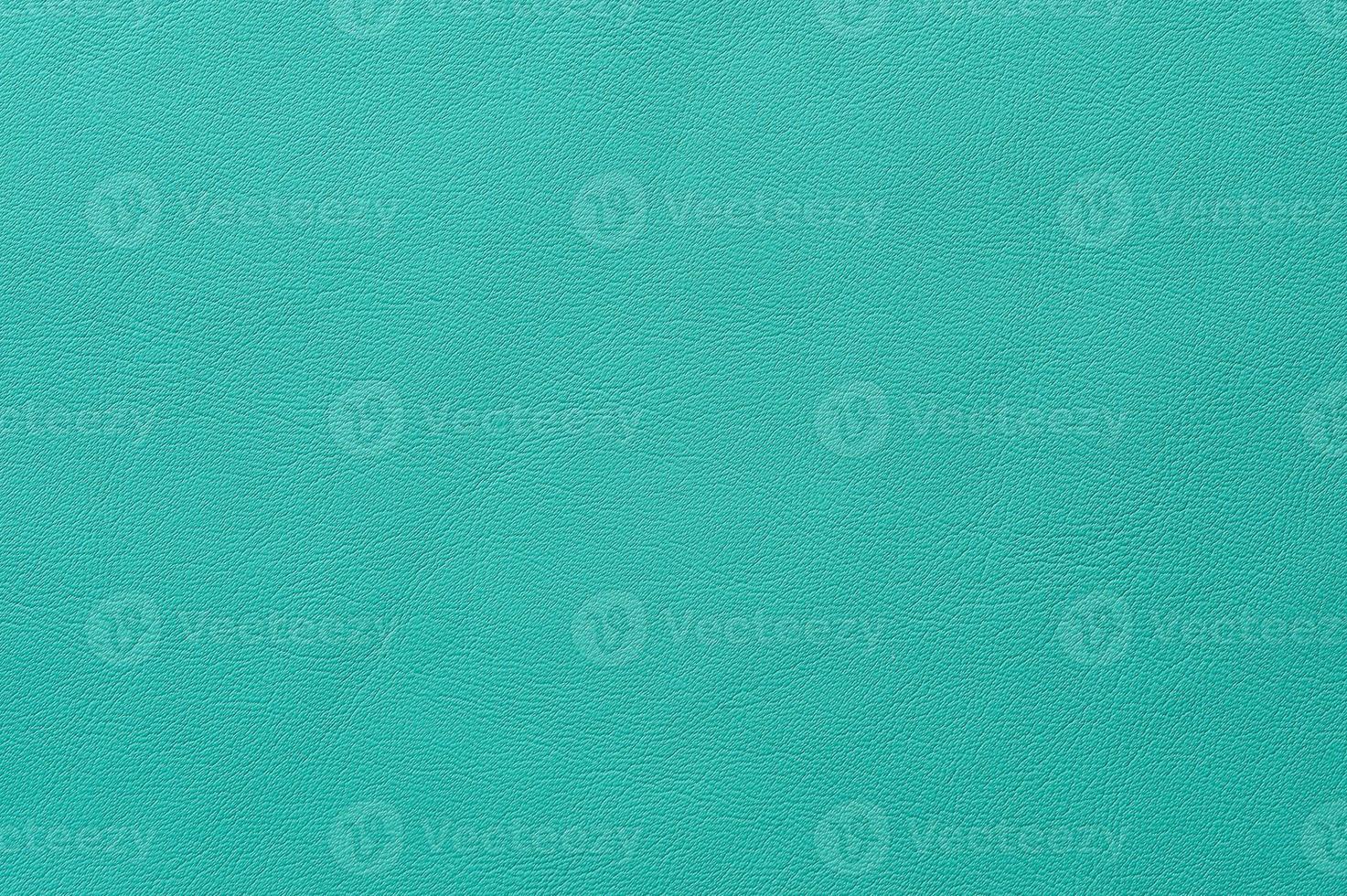 Nahaufnahme der nahtlosen grünen Lederstruktur foto