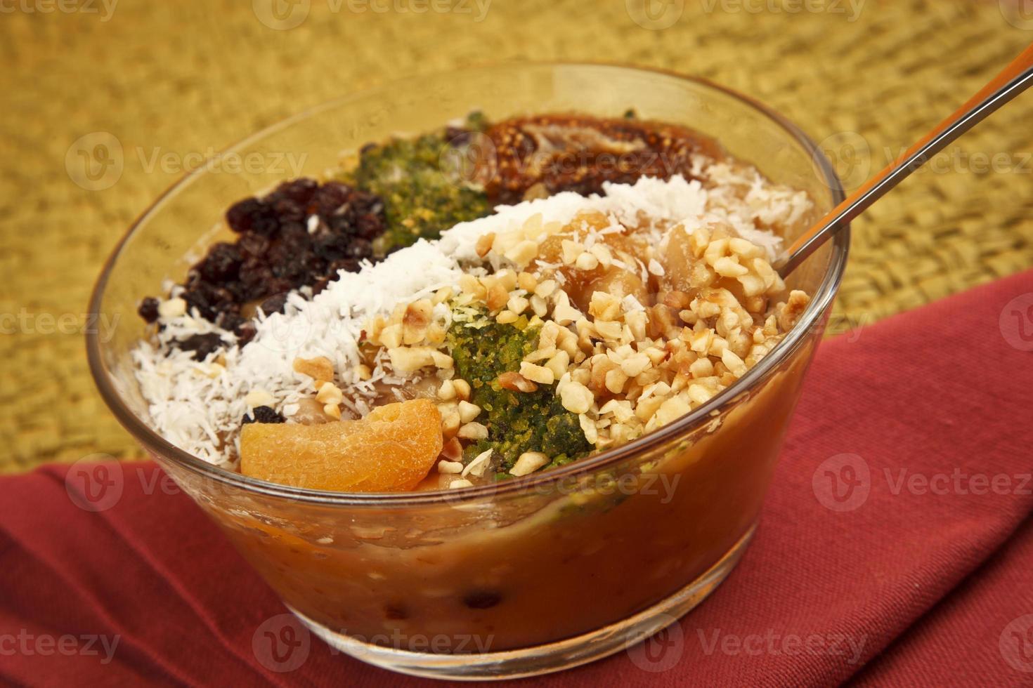 ashura - türkisches Dessert asure foto