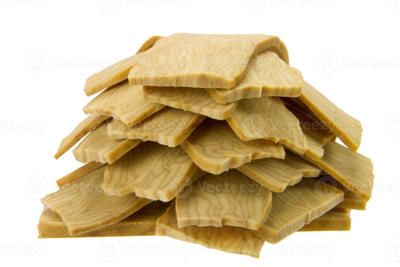getrockneter Tofu foto